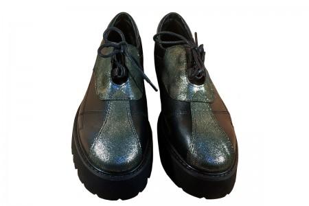 Туфли шнурок на платформе