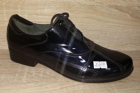 Туфли на шнурке Лаковые